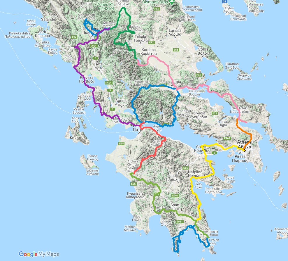 Outline Route - Subject to change